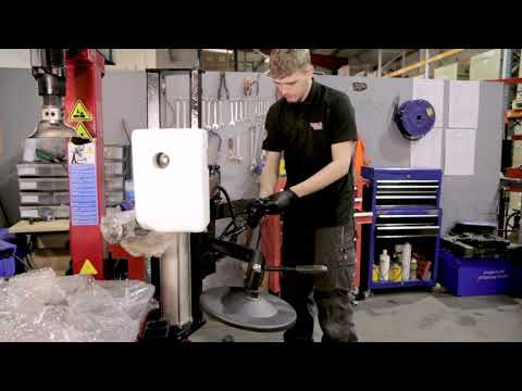 Machine Build Video | RB221PA 24″ Fully Automatic Tyre Changing Machine With Assist Arm