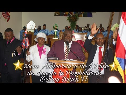Church Of God Of Prophecy Of Delray Beach Fl 36th Anniversary