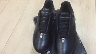 Обзор на кроссовки Адидас Порш Дизайн кожаные