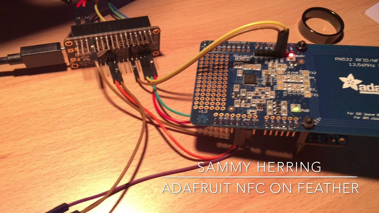 Adafruit Feather with NFC