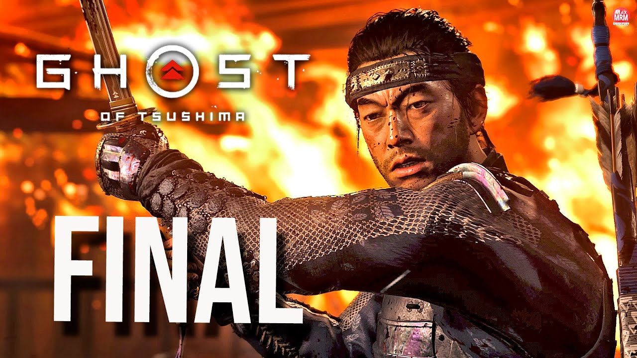 GHOST OF TSUSHIMA - Parte #9 : O FINAL , A GRANDE BATALHA CONTRA KHOTUN KHAN | 4k no PS4 Pro