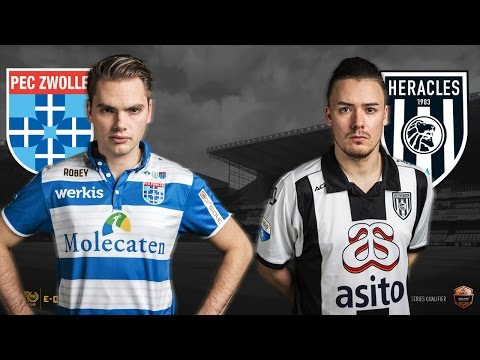Stefan Vellinga - Bryan Hessing | PEC Zwolle - Heracles Almelo | Speelronde 32 | E-Divisie