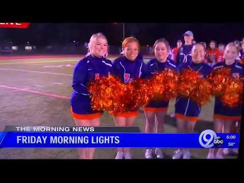 Friday Morning Lights highlights 2019 Liverpool High School featuring Varsity cheerleaders ????