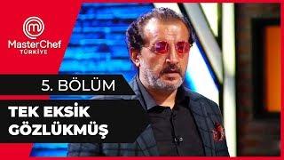 Mehmet Şef, Rıfat'ın Gözlüklerini Taktı - MasterChef 5. Bölüm