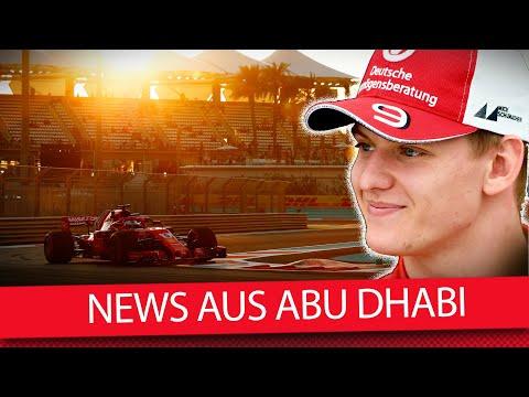 Abu Dhabi: Vettel fehlt, Schumacher bleibt! - Formel 1 2019 (VLOG)