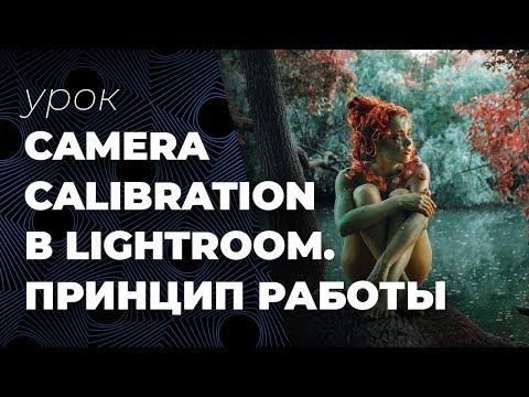 Camera Calibration в Lightroom - принцип работы