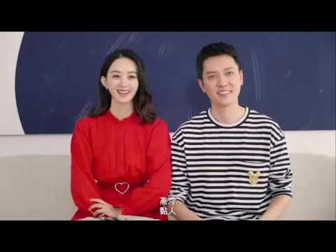 Zhao Liying and Feng Shao Feng sweet moments