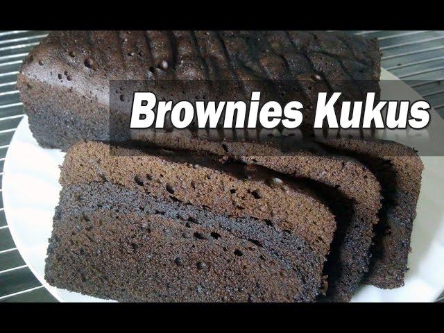 kumpulan video cara membuat brownies kukus amanda   maxsi id