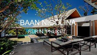 Baan Nicolina Luxury 5 Bedroom Villa in Surin, Thailand. Luxury Villa Rentals