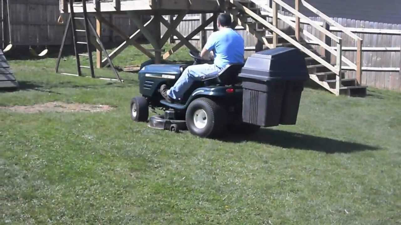 Craftsman 20hp Riding Mower With Bagger