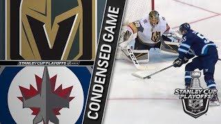 Vegas Golden Knights vs Winnipeg Jets WCF, Gm2 May 14, 2018 HIGHLIGHTS HD