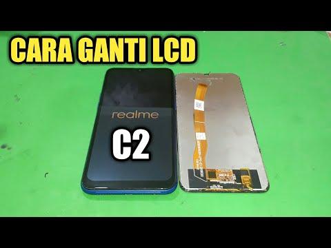 GANTI LCD REALME C2