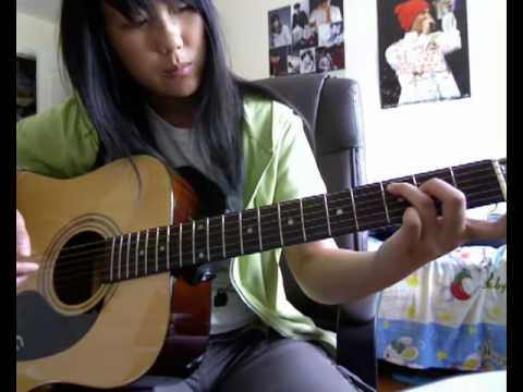 Tae Yang - Wedding Dress Guitar Tutorial - YouTube
