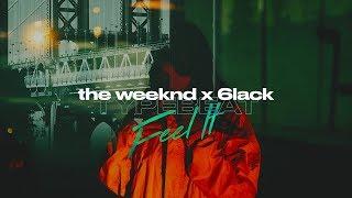 The Weeknd Type Beat x 6lack Type Beat - Feel It | Dark Trap Instrumental