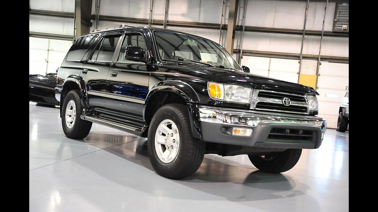 Davis AutoSports 2000 Toyota 4Runner For Sale SR5 w Leather