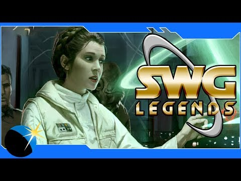 SWG Legends - Star Wars Galaxies - Our New Base! Player Housing, JTL, and more