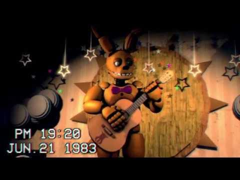 [FNAF] Spring Bonnie Show Tape (Fredbear's Family Diner 1983)