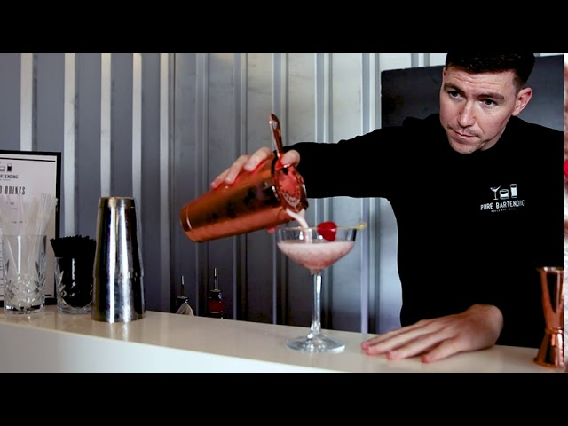 French Martini Pure Bartending 4K
