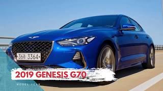 2019 седана Genesis Г70 з коробкою передач для огляду ринку США