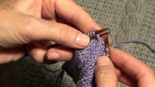 Вязание для начинающих. Декоративное убавление петель. Школа  вязания
