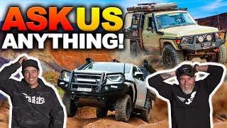 SHAUN & GRAHAM Q&A – Next Build up rigs revealed? Best 4WD Fails yet! The Shed Ep 18