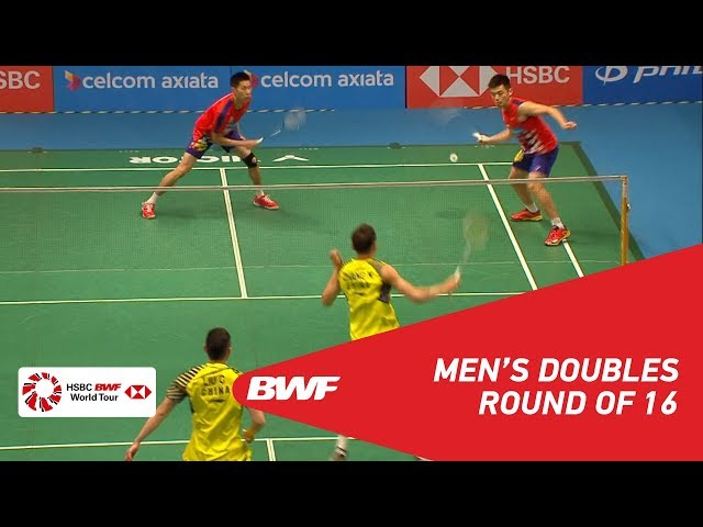 MD | LIU/ZHANG (CHN) [3] vs GOH/TAN (MAS) | BWF 2018