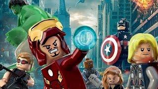 Игра лего марвел мстители 2016 (Часть 4)
