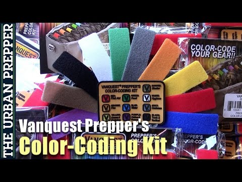Vanquest Prepper's Color-Coding Kit