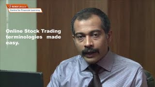 Online Stock Trading terminologies made easy.