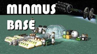Epic Minmus Colony - Launching it the proper way - KSP 1.2.2
