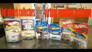 HOT WHEELS VIRTUAL TREASURE HUNT VENDING MACHINE!!! feat. AWESOME COLLECTOR CARS!!!