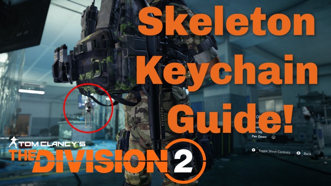 All Keychain Locations in The Division 2 - Guide Stash