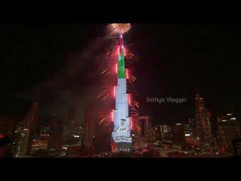 Burj khalifa fireworks 2021 Dubai Burj khalifa New Year 2021 fireworks Dubai New Year 2021 fireworks
