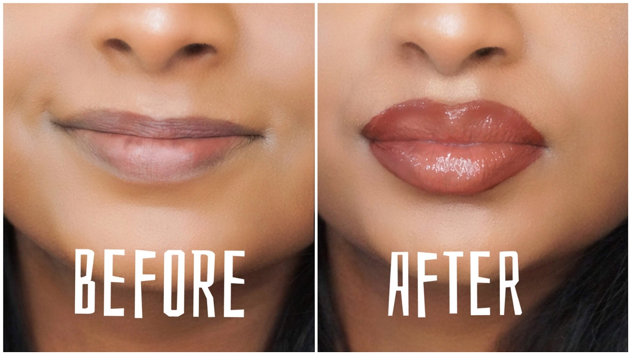 how to make your lips look bigger at home