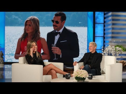 Jennifer Aniston on Adam Sandler's Questionable Wardrobe