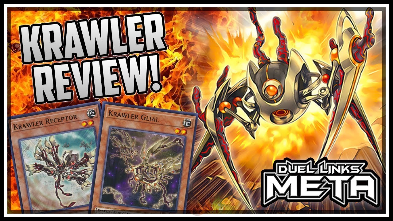 Krawlers Review And Gameplay Yu Gi Oh Duel Links Youtube