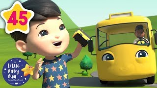 BRAND NEW | Wheels On The Bus | +More Baby Songs | Nursery Rhymes | Little Baby Bum