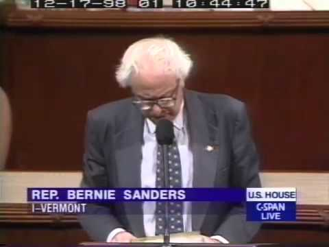 Bernie Sanders: No Justification for Another War in Iraq (12/17/1998)