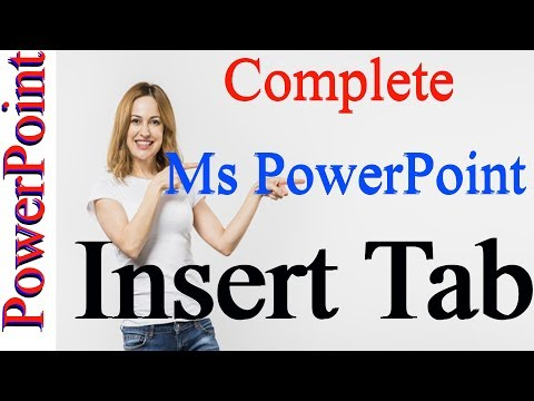 Microsoft Power Point INSERT TAB All Option by Kshedang [Nepali]