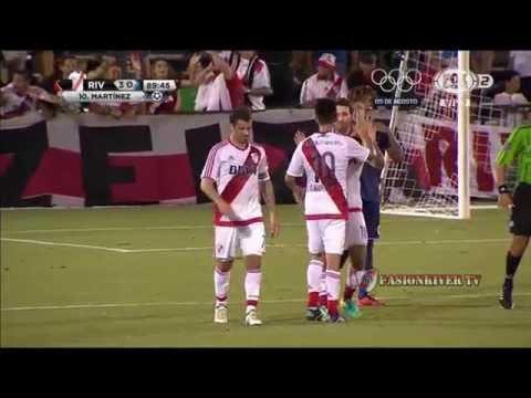 River Plate vs Motagua (3-0) Amistoso Internacional 2016 - Resumen FULL HD