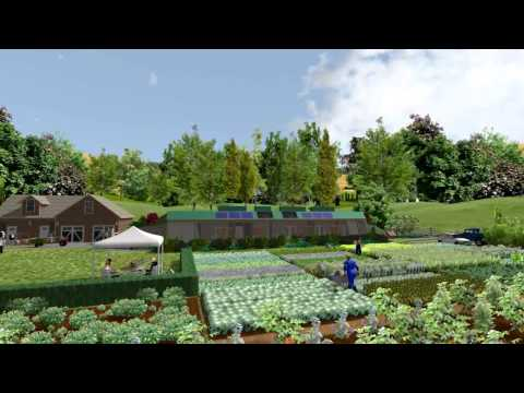 3D Animation of Earthship – Growing natural Organic food