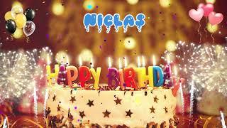 NICLAS Birthday Song – Happy Birthday Niclas