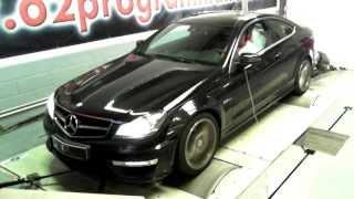 Vidéo Reprogrammation moteur Mercedes C63 AMG PPP@521ch! 250@335kmh o2programmation