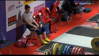 2017 European Weightlifting 63 kg Group A