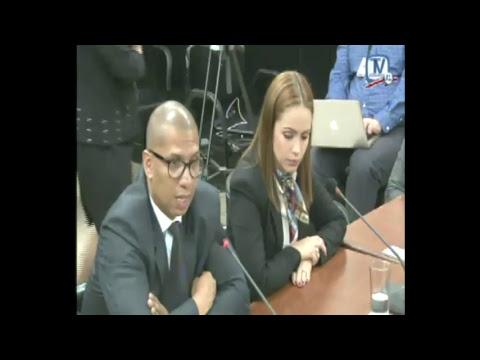 Comisión Inv Créditos Bancarios Aud. Rep Fiscalia Gral y de  Probidad,  Jueves 19 octubre 2017