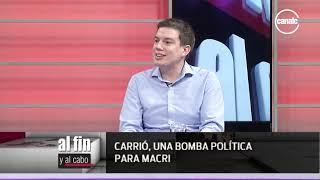 Gregorio Hernández Maqueda | Referente ARI Córdoba • Carrió, una bomba política para Macri