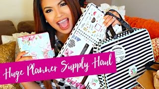 Planner Haul! NEW MAMBI Storing Case For Planner Supplies | HUGE GIVEAWAY!