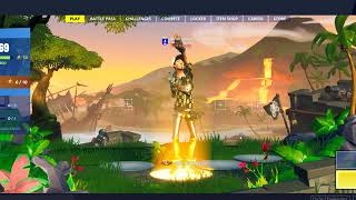 Fortnite glitch | Save the World character in Battle royale w/ emotes