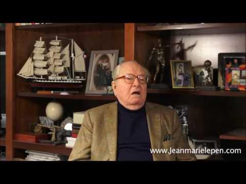 Jean-Marie Le Pen sur le CRIF (organisation juive)