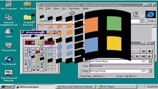 Windows 95 Installation in Virtual Machine - MAJOR THROWBACK